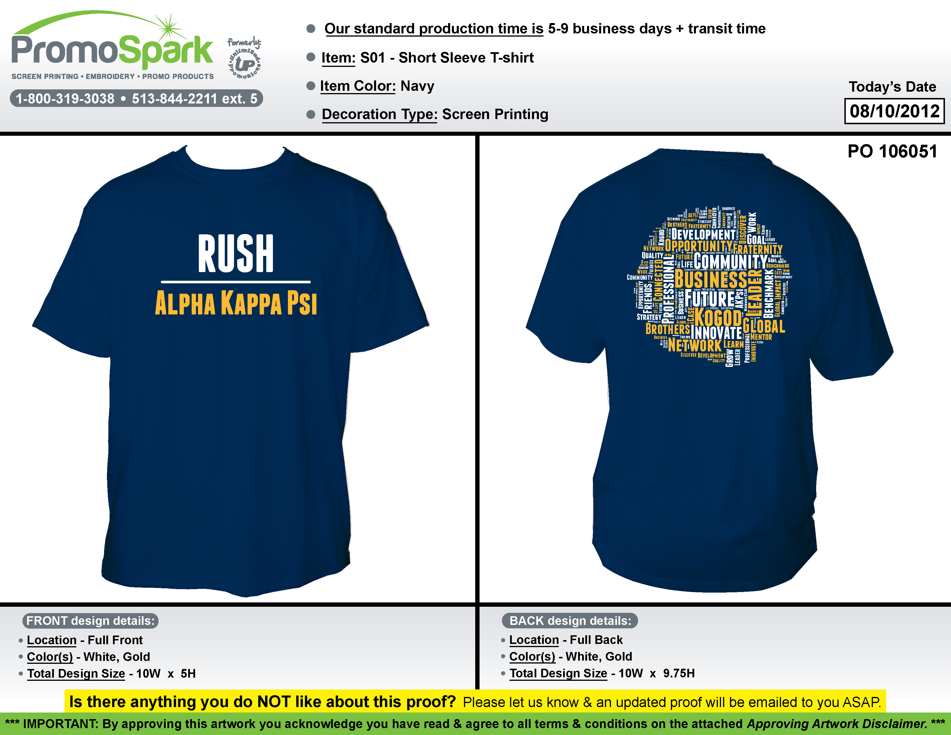Branding chair for alpha kappa psi why katelyn froehlich for Fraternity rush shirt ideas